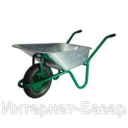 Тачка Limex 90/160 зеленая одноколесная