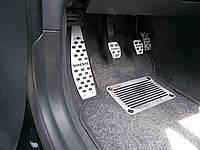 Накладки на педали Volvo V50 2004-2012 с МКПП ADA CARS