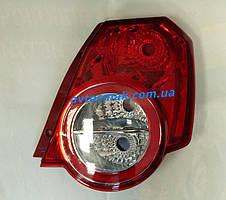 Фонарь задний для Chevrolet Aveo хетчбек (Т255) '08-12 правый (DEPO)