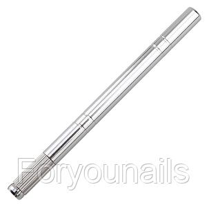 Ручка-манипула для микроблейдинга (серебро)