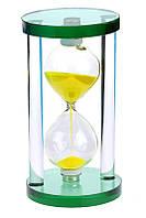 Песочные часы из цветного стекла, 15 см прDF368