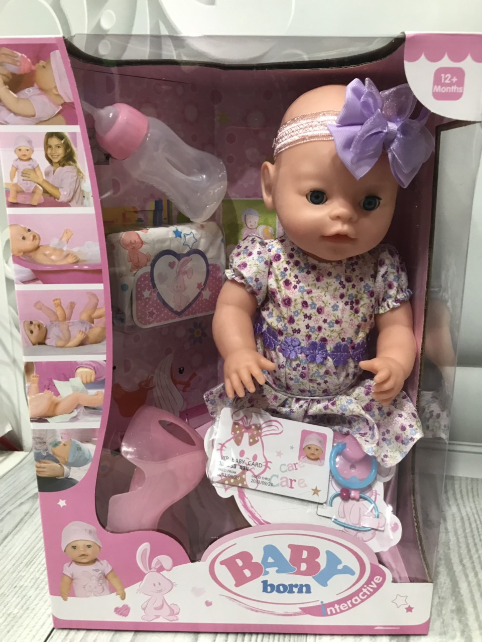 Кукла пупсик с аксессуарами