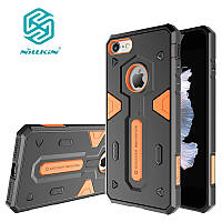 Чехол Nillkin для iPhone 8/7 Defender, Black+Orange, фото 1