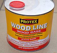 Пропитка грунтовочная  для защиты древесины Wood Line Wood Base 2,1 л.