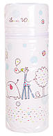 Термоконтейнер Ceba Baby Lovely World Standard 63*63*225мм  белый (жираф, слон), фото 1