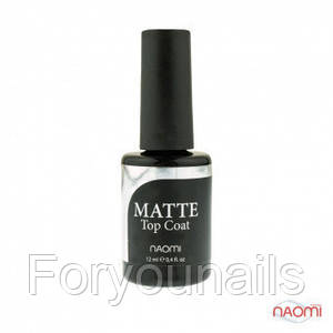 Топ для гель-лака Naomi Matte top 12 мл
