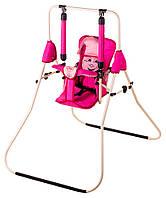 Качель Умка Casper  малиновый-розовый