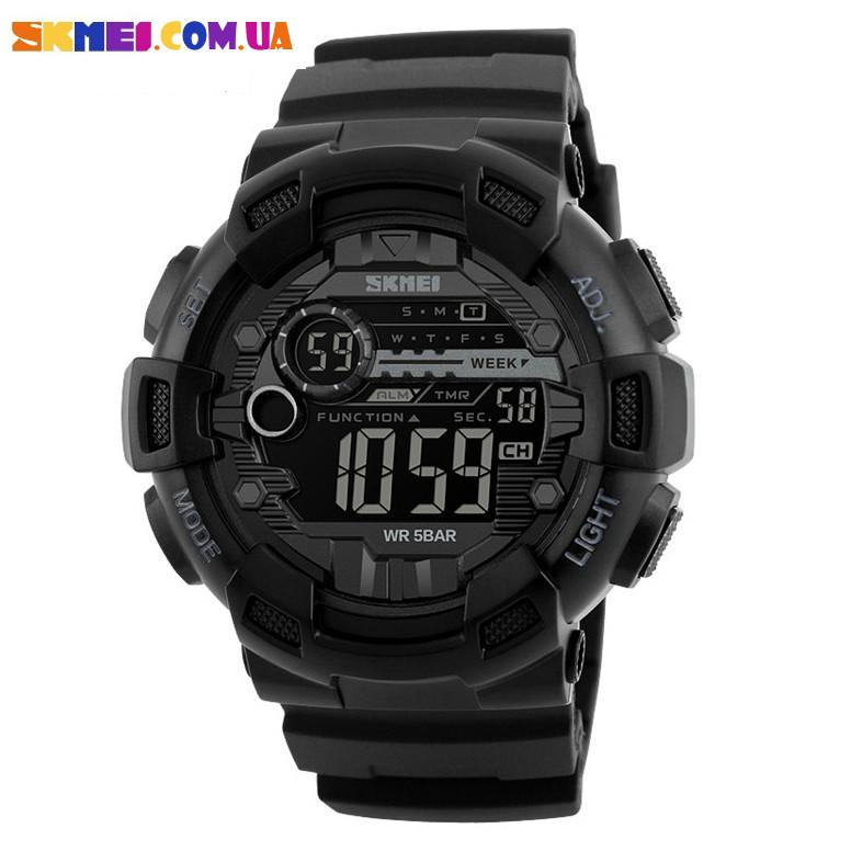 Чоловічий військовий годинник SKMEI 1243 (Black)