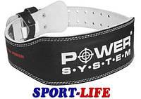 Пояс Power System для тяжелой атлетики, кожа, фото 1