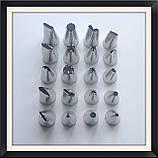Набор кондитерских насадок (20 шт), фото 2
