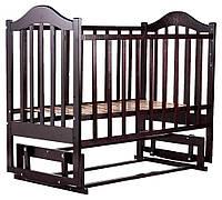 Кровать Babyroom Дина D203 маятник  венге, фото 1