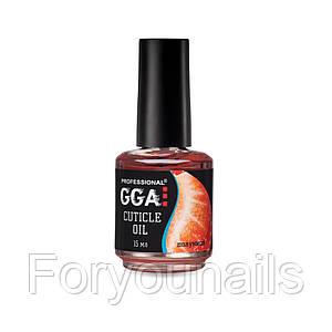 Масло для кутикулы GGA Professional Клубника 15 мл