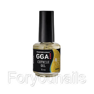 Масло для кутикулы GGA Professional Лимон 15 мл