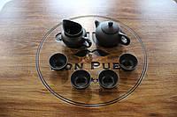 Набор посуды для чаепития, иссинская глина