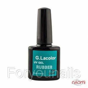 Топ каучуковый для гель-лака G. La color Rubber Top Coat, 10 мл