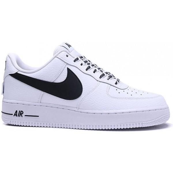 f3115fee Кроссовки мужские Nike Air Force 1 07 LV8 'NBA Pack' White - Магазин  спортивной