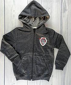 Спортивна Кофта для хлопчиків Сірий Breeze Туреччина 8 років, 128 см