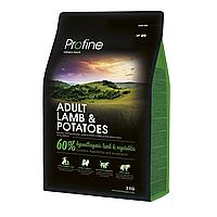 Profine Adult Lamb and Potatoes 3кг-ягненок и картофель для взрослых собак