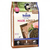 Корм Бош Макси Эдалт Bosch Maxi Adult для собак крупных пород 3кг