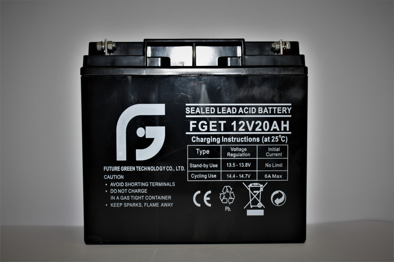 Аккумулятор 12V 20Ah FGET
