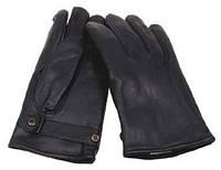 Кожанные перчатки BW, черные