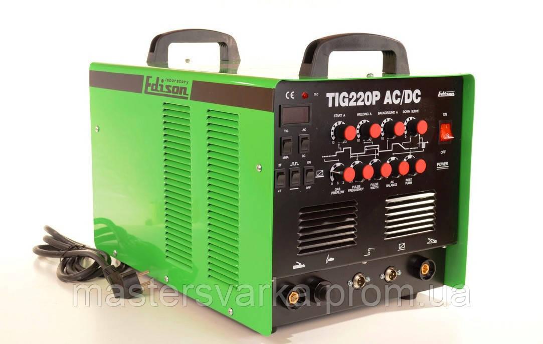 Сварочный аргоно-дуговой инвертор Edison TIG-220P AC/DC