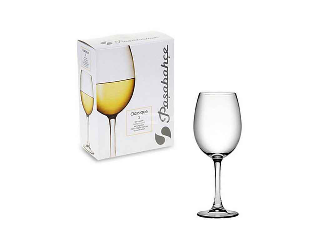 Бокал Classique 2 шт Белое Вино 360 мл
