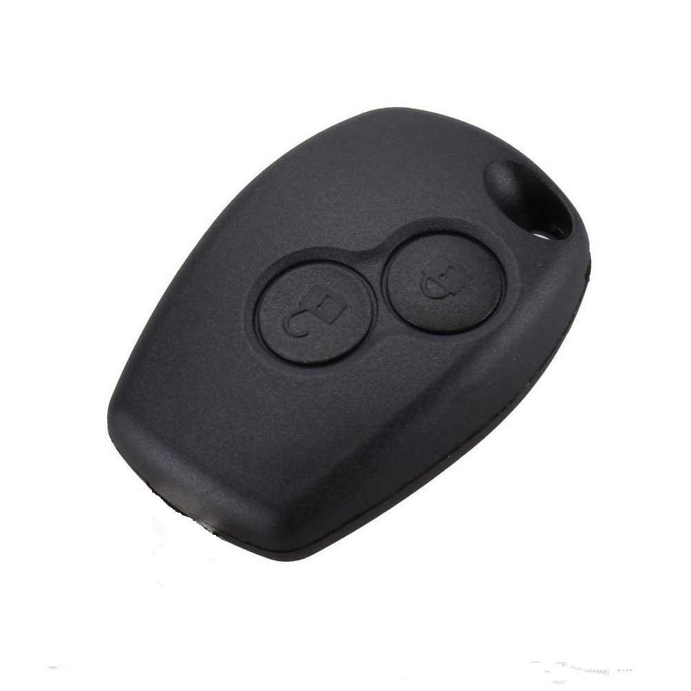 Корпус ключа Renault Fluence Рено Флюенс на две круглых кнопки