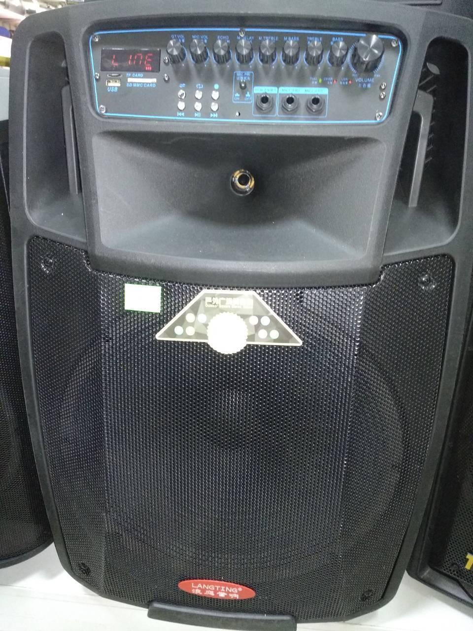 Колонка Temeisheng SL12-01 аккумуляторная,USB, Bluetooth, 2 микрофона