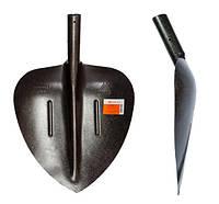 Лопата совковая щебеночная из рельсовой стали
