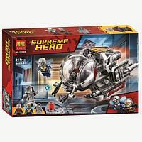 """Конструктор Bela 11022 """"Исследователи квантового мира"""" (реплика Lego Super Heroes 76109), 217 дет, фото 1"""