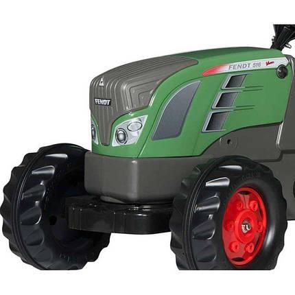 Большой педальный трактор RollyToys rollyKid с прицепом, фото 2