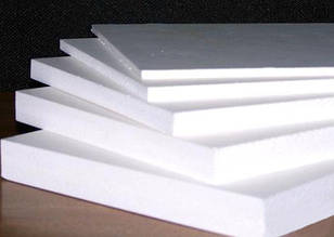 ПВХ вспененный, белый, 4 мм, (0,5) лист 1220х3050 мм
