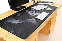 Большой игровой коврик для мыши и клавиатуры 30*80см