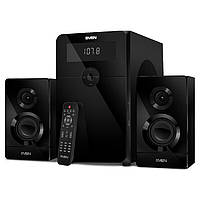 Колонки 2.1 SVEN MS-2250 Bluetooth (80Вт, USB, SD, FM, ДУ)