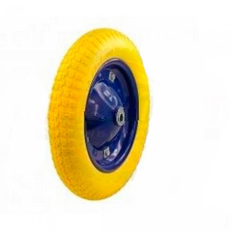 Колесо для тачек 3.00-8 пенополиуретановое, ось d=16 мм