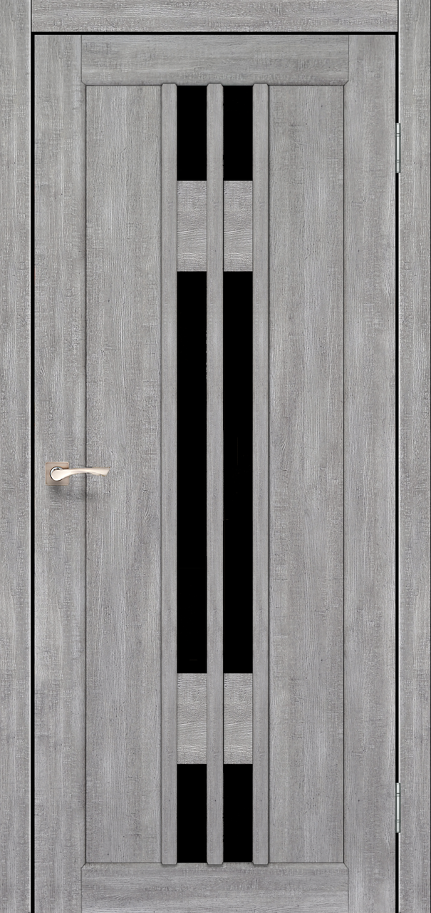 Двери KORFAD VLD-05 Полотно+коробка+2 к-та наличников+добор 100мм, эко-шпон