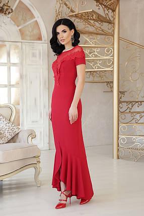 Нежное вечернее платье с открытыми плечами  Размеры S, M,L,XL, фото 2