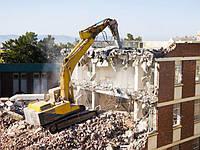Демонтаж высотных конструкций