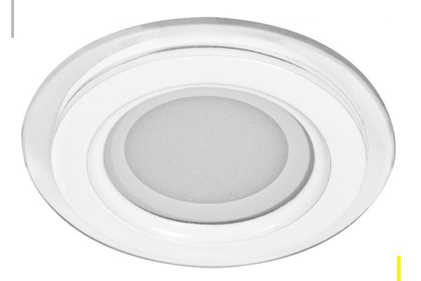 Встраиваемый светодиодный светильник Feron AL2110 25W (со стеклом) нейтральный белый свет