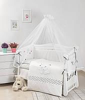 Детская постель Twins Evolution Полярные медведи 7 эл A-037 white (8420)