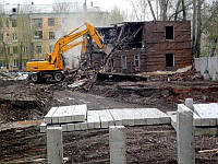 Демонтаж и снос зданий, стен, перекрытий. Демонтажные работы.