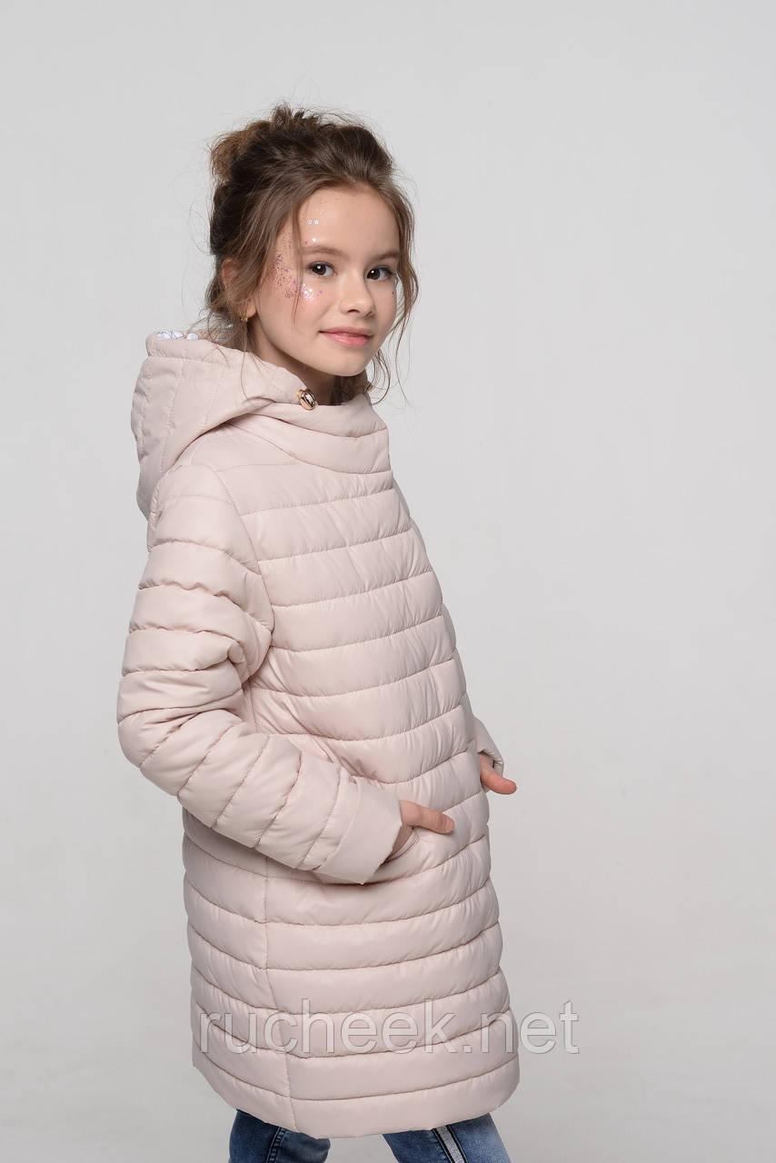 Демисезонная куртка для девочки Никса рост 110-116, Тм Nui very