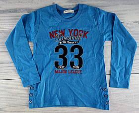 Джемпер для хлопчиків Блакитний Breeze Туреччина 5 років, 110 см