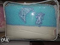"""Детский постельный комплект белья """"Bonna Lux"""", Голубой"""