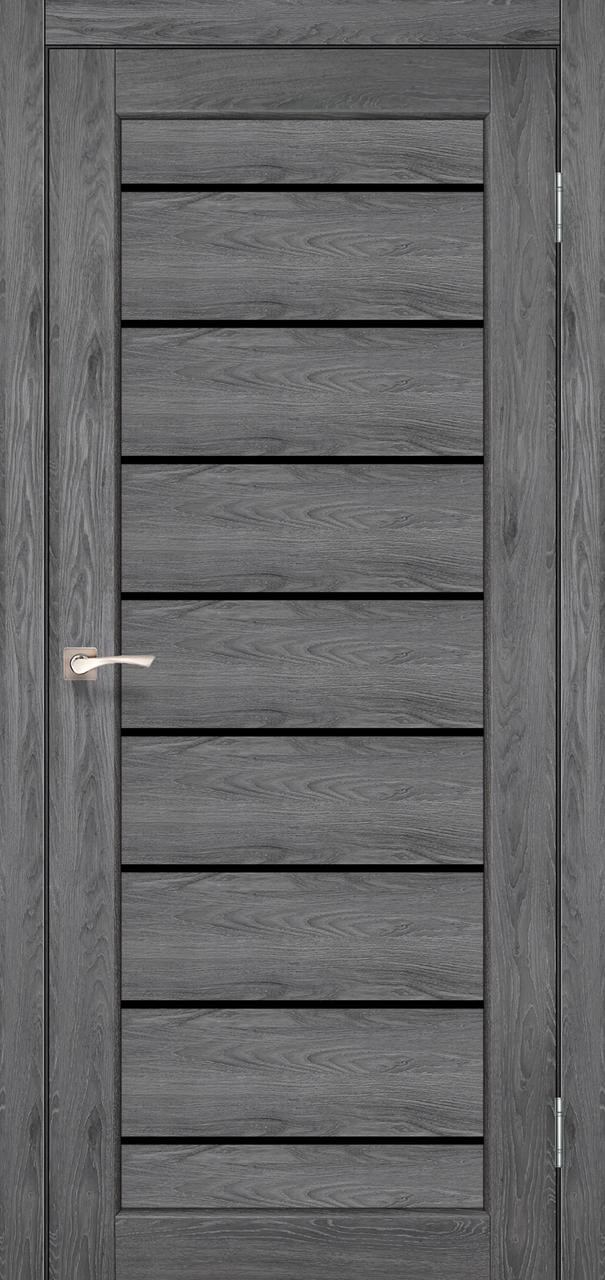 Двери KORFAD PND-01 Полотно+коробка+2 к-та наличников+добор 100мм, эко-шпон