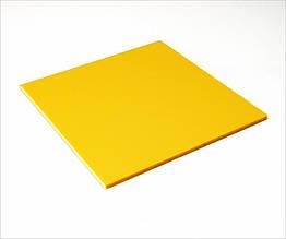 ПВХ вспененный Palight, желтый, 3 мм, лист 1220х2440 мм