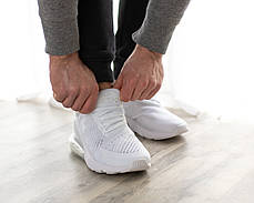 Женские кроссовки в стиле Nike Air Max 270 All White (39, 40 размеры), фото 3