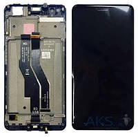 Дисплей (экран) для телефона Asus ZenFone 3 Zoom ZE553KL + Touchscreen with frame Original Black