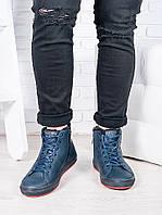 Мужские синие ботинки PP 6817-28